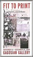 ポスター アーティスト不明 ハーレー Fit to Print2007 collage 額装品 アルミ製ハイグレードフレーム(シルバー)