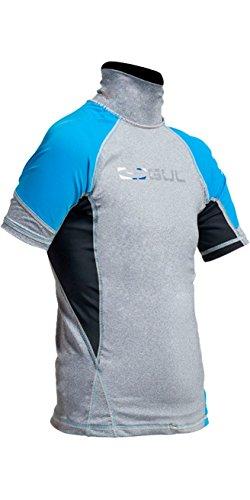 GUL Kids Youth Junior - Camiseta de Manga Corta, de Dry rápido, Ligera y con Efecto Rizado, en Marl Crip - Protección Solar UV y propiedades SPF
