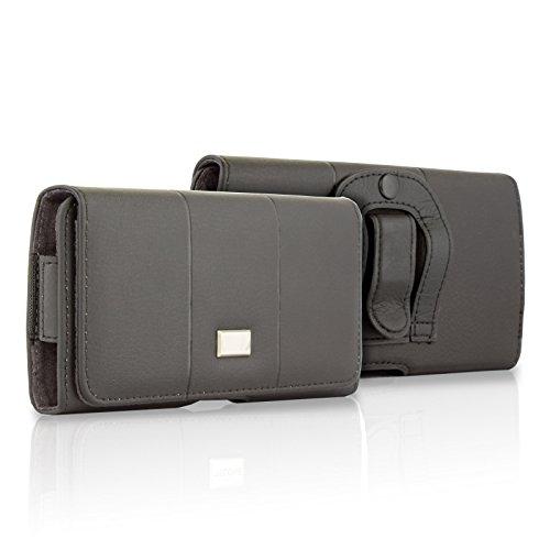 BRALEXX Elegante Gürteltasche Quertasche Bauchtasche Hülle Tasche mit Gürtelbefestigung UNIVERSAL 6-6,7 Zoll für VIVO Y70 Y72 Y20s X51 X60 Pro