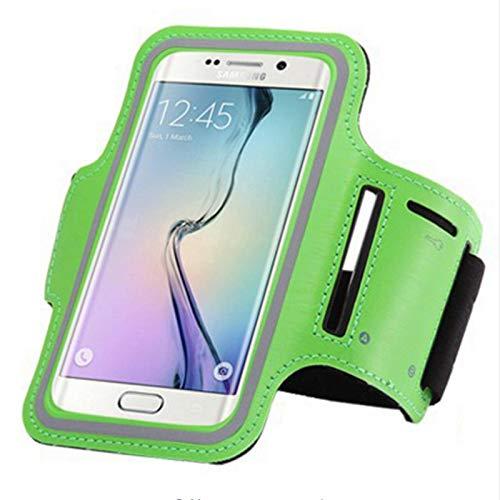 Bolsa impermeable para teléfono móvil Brazalete de ejercicio para iPhone 7 4.7 / IPhone 7 Plus 5.5 Caja de apoyo para correr y montar cinturón de extensión Bolsa para tarjeta Soporte para auriculares