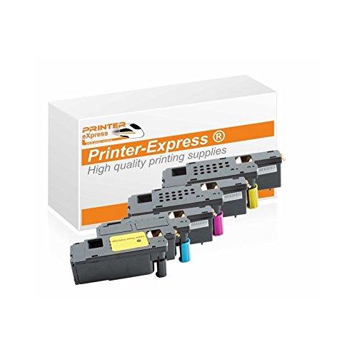 Printer-Express XL Toner 4er Set ersetzt Dell E525 für Dell E525, E525W Drucker Drucker
