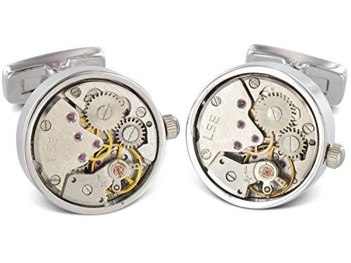 Teroon Prestige Manschettenknöpfe Uhrwerk