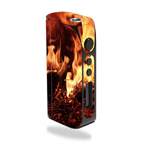 Decal Sticker Skin WRAP Flaming Embers Decal Sticker NOT an Actual Vape for Pioneer4You iPV D3 80W