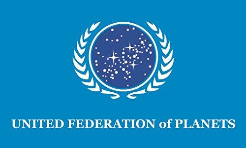U24 Flagge Fahne Star Trek United Federation of Planets 90 x 150 cm
