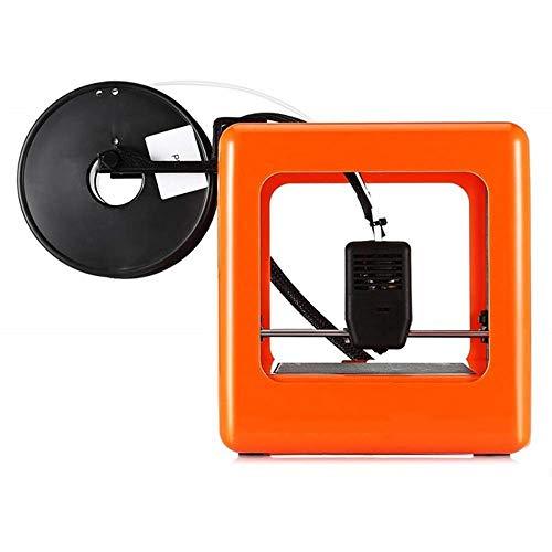 Un completamente montato stampante 3D Miniature Adatto a casa scuole e studenti, con una dimensione di 90 x 110x110mm, supporta un clic la stampa utilizzando 1,75 millimetri 0,4 millimetri,Arancia