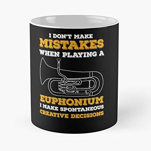 Band Baritone Tuba Marching Trumpet Euphonium Joke Pun Best 11 oz Kaffeebecher - Nespresso Tassen Kaffee Motive