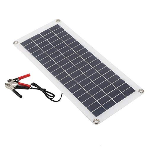 FOLOSAFENAR Cargador de Panel de célula Solar USB 10W Panel de Cargador Solar Flexible portátil para Luces publicitarias