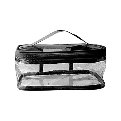 eise-Toiletten Beutel Make-up-Taschen, Toiletten Beutel Wasserdicht transparentes Reiß Verschluss Design Handgepäck Reise Liquids Organizer Trage Tasche für Flaschen, Kosmetik, Badezimmer-Toil Sch