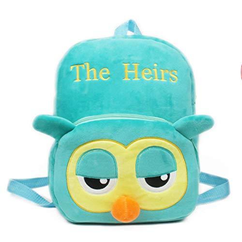 LUSTAR Cute Kid Owl Backpack 3D Plush School Bags Animal Backpacks Travel Daypack For Girls Boys