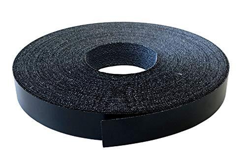 Kantenumleimer Melamin 22mm x 10m mit Schmelzkleber in schwarz glatt matt Dekor