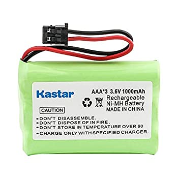 Kastar Ni-MH Battery Replacement for Uniden BT-909 BT909 BT-1001 BT1001 BT-1004 BT1004 DCT736 DCT737 DCT738 DCT750 DCT756 DCT758 TRU226 TRU9260 TRU9280 TRU9360 TRU9380 TRU9385 TRU-12803 TRU-99280