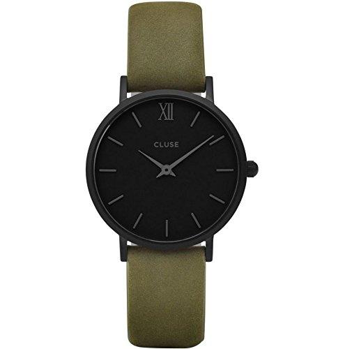 Cluse Damen Armbanduhr Analog Quarz Leder CL30007