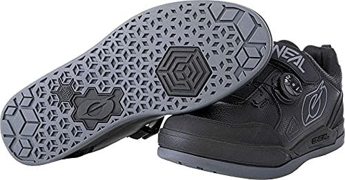 O'NEAL   Mountainbike-Schuhe   MTB Downhill Freeride   Vegan   Super-Grip-Außensohle, Verstellbares Ratschenschnürsystem, Fußrepositionierung   Sender Pro Shoe   Erwachsene   Schwarz   Größe 43