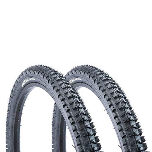 Vandorm PAIR of 26' x 2.30' Summit MTB Mountain Bike Tyres