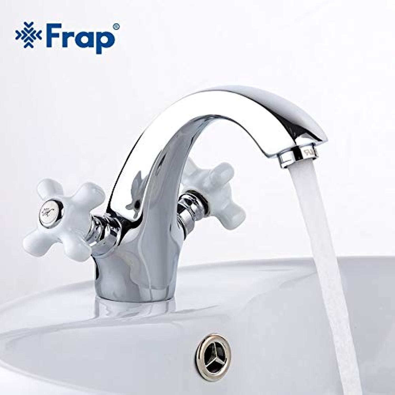 U-Enjoy Kronleuchter Brasstwo Griff Toiletten Verchromte Wascharmatur Top-Qualitt Hot Becken Und Kalten Schalter Tippt F1018 Chromeisolated Kostenloser Versand