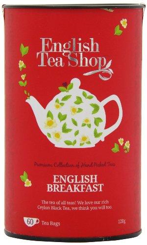 English Tea Shop - English Breakfast, BIO, 60 Teebeutel in Dose