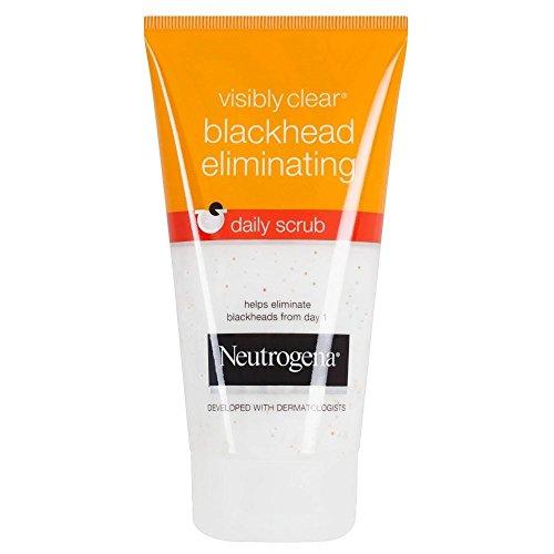 Neutrogena–Visibly Clear DESINCRUSTANT schwarze Punkte creme Reinigungstuch 150ml