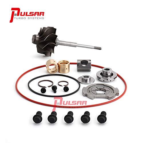 PULSAR 10 Blade Whistle Turbine Wheel Rebuild Kit for 05-07 6.0 Powerstroke GT3782VA Turbo