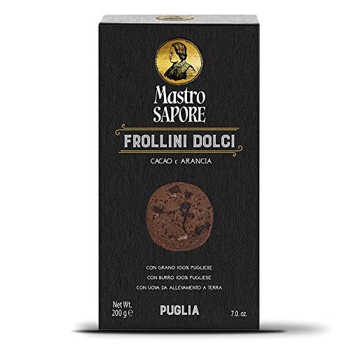 Mastro Sapore - Frollini Kekse Mit Kakao Und Orange, 200g