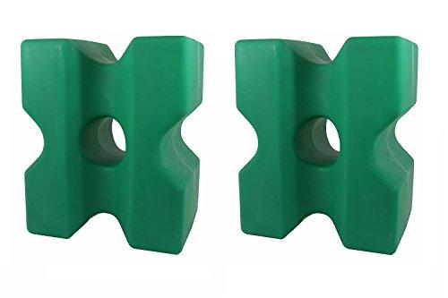 """Cavaletti-Block \""""Cona\"""" 2er-Set grün"""