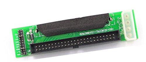 JXSZ SCSI SCA 80-Pin FemaleTo IDC 50-Pin Male Adapter SCSI 80-50 F-M Card
