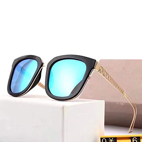 LASTARTS Las gafas de sol polarizadas cuadradas clásicas de las mujeres, lente de las gafas de sol de la moda de la protección UV400 para la conducción del viaje al aire libre