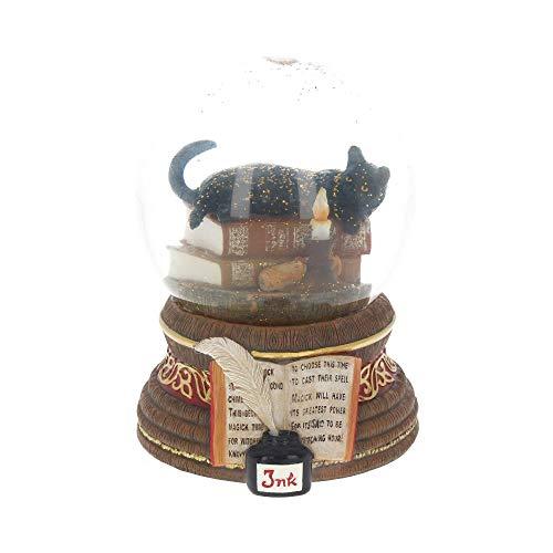 Nemesis Now Witching Hour di Lisa Parker Palla di neve, 11 cm, marrone, in resina e vetro, taglia unica