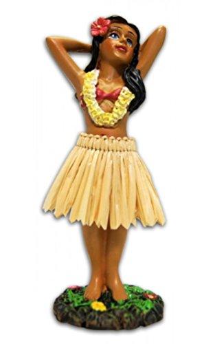 KC Hawi figura de mueca mini posando, 10,16 cm, mueca en miniatura hawaiana, regalo perfecto
