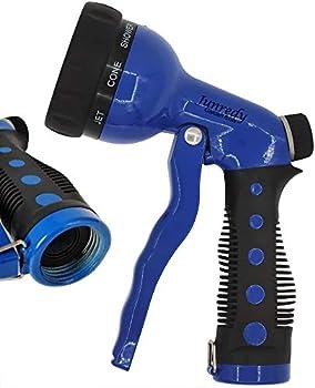 Junredy Garden Hose Nozzle with 8 Adjustable Spray Patterns