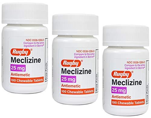 Meclizine HCL 25mg