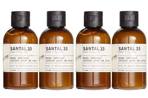 Lowest price challenge Le Labo Santal 33 Body Lotion - Set Ounce 4 of 12 Miami Mall Bottles 3 O