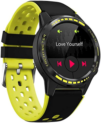 JSL Reloj inteligente pulsera con tarjeta SIM llamada reloj inteligente GPS Smartwatch para hombres brújula barómetro altitud al aire libre impermeable