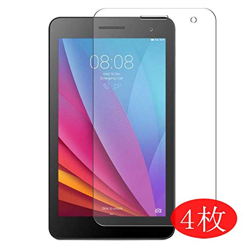 4-Pack Vaxson Screen Protector Compatible with HUAWEI MediaPad T3 3G 7.0' BG2-U01, Ultra HD Film Protector [NOT Tempered Glass] TPU Flexible Protective Film