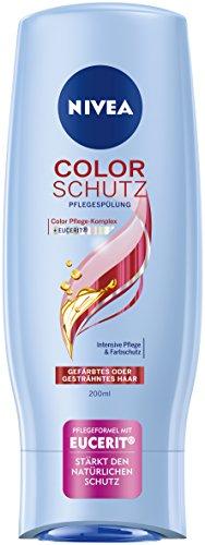 Nivea Color Schutz Haar-Pflegespülung für gefärbtes oder gesträhntes Haar, 4er Pack (4 x 200 ml)