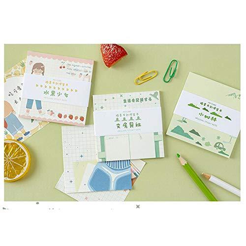 elegantstunning - Cuaderno de notas (serie Lovely, Creative Delicate y Pretty Memo)