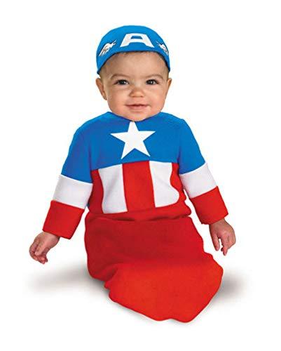 Costume de bébé Captain America