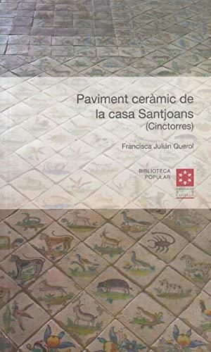 Paviment ceràmic de la casa Santjoans (Cinctorres) (Biblioteca Popular)