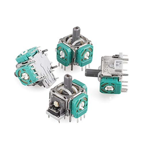 IESTAR 4pcs 3D Analog Joystick Potentiometer Thumbstick Sensor Module Replacement for Xbox One Controller Also for PS4 Controller