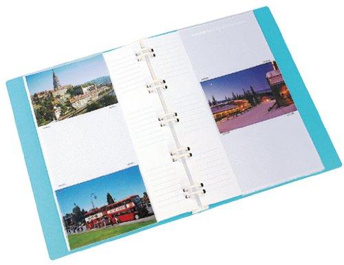 『ナカバヤシ バインダー式 ポケットアルバム フォトファイル ホワイト アS-MY-141-W』の2枚目の画像