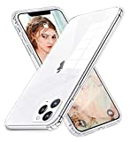 Tzomse Compatible with iPhone 11 Pro Max Case Clear,