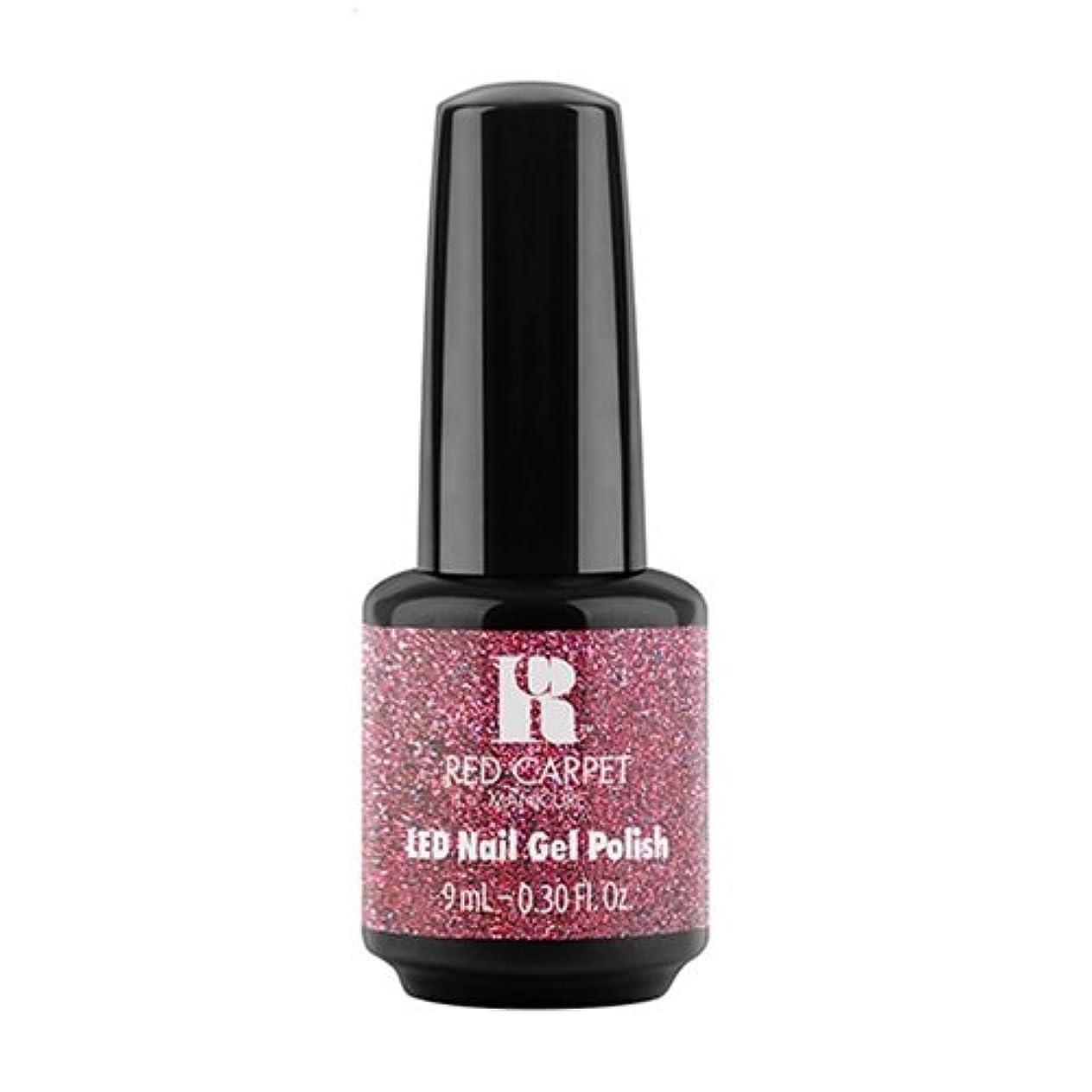 陰謀に負ける広くRed Carpet Manicure - LED Nail Gel Polish - Bombshell Babe - 0.3oz / 9ml