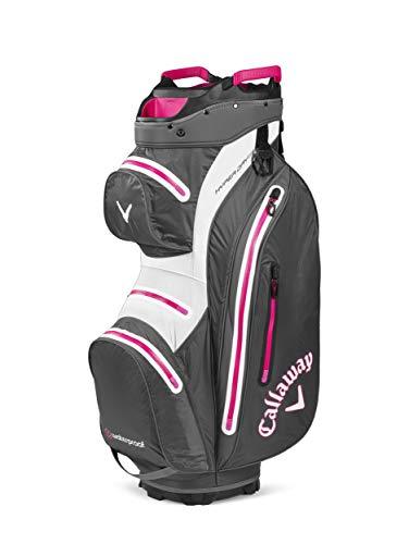 Callaway Hyper Dry 15 Cartbag, Unisex, Tasche, 5120033, Charcoal / pink, Einheitsgröße