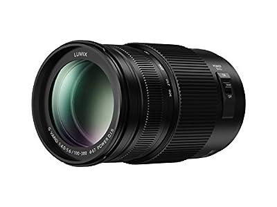 PANASONIC LUMIX G II Vario Lens, 100-300MM, MIRRORLESS Micro Four Thirds, Power O.I.S, H-FSA100300 (USA Black) from Panasonic