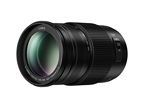 PANASONIC LUMIX G II Vario Lens, 100-300MM, MIRRORLESS Micro Four Thirds, Power O.I.S,...