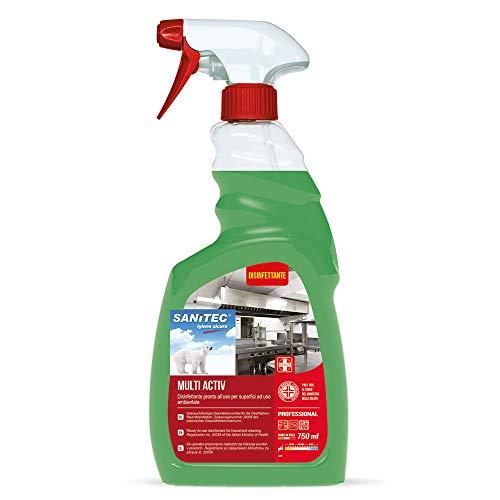 Multi Activ Sgrassante Disinfettante, 750 ml - Cucina e Superfici a Contatto con Alimenti