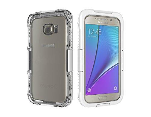 MYLB - Carcasa sumergible, impermeable y duradera - Protección completa para Samsung Galaxy S7 - Con la funda puesta mantiene el reconocimiento de huellas digitales/identificación táctil