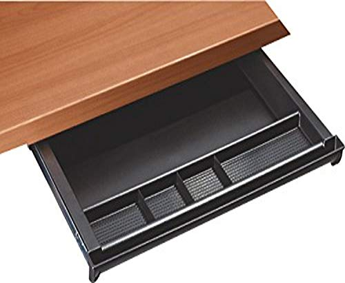 RightAngle Under Desk Sliding Compartment Organizer, Pencil Drawer