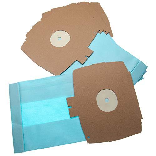 vhbw 10 Staubsaugerbeutel Ersatz für Swirl E 76 / E76 für Staubsauger, Papier 26.1cm x 15.05cm