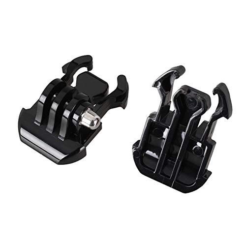 FUQUANDIAN 2 piezas hebilla de liberación rápida montaje base trípode adaptador para gopro 7 6 5 4 para xiaomi Yi 4 K acción cámara Accesorios soporte accesorios