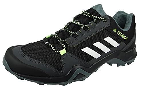 adidas Herren Terrex Ax3 Trekking-& Wanderhalbschuhe, Mehrfarbig Negbás Ftwbla Amaaci, 45 1/3 EU